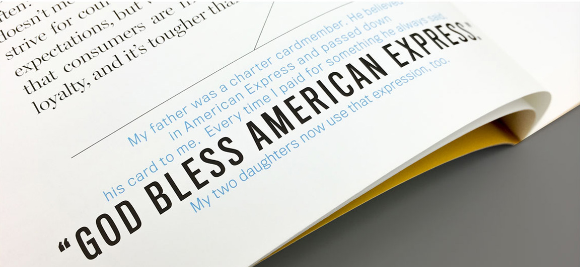 American Express Employee Publication | Corporate Magazine