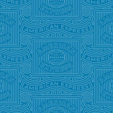 American Express logo detail.
