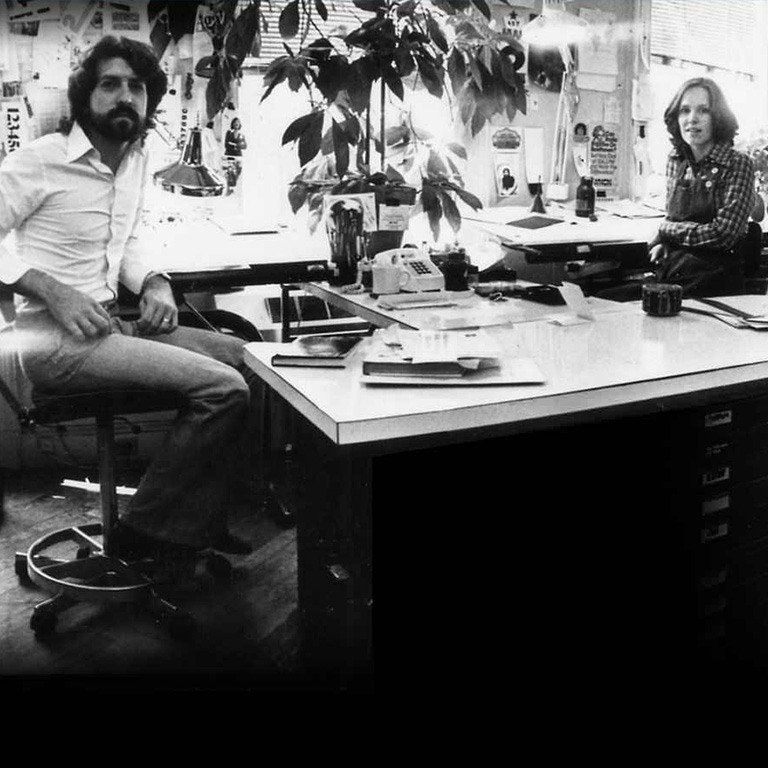 Thinking back on four decades – Craig Bernhardt and Janice Fudyma in 1973 .