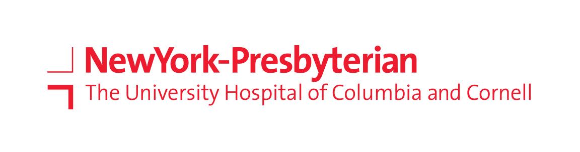 Primary logo for the branding of New York-Presbyterian.