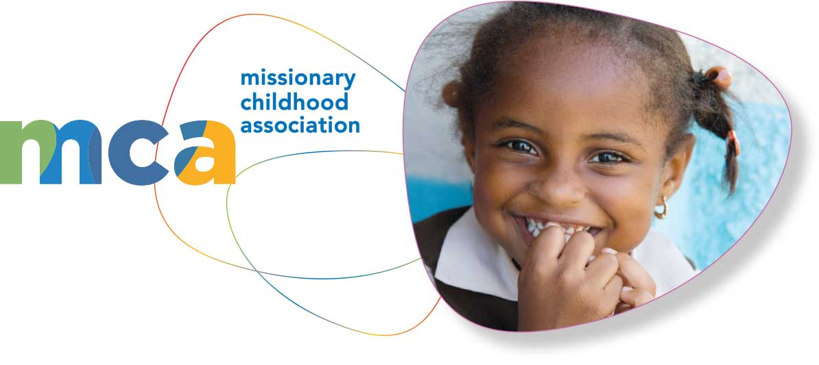 Logo design created for the branding of the nonprofit organization Missionary Childhood Association.