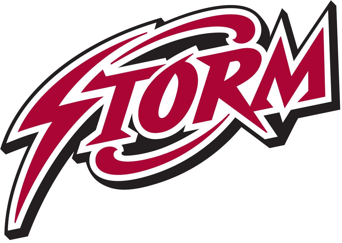 Alternate Storm logo created for the sports branding of St. Luke's School's varsity teams.