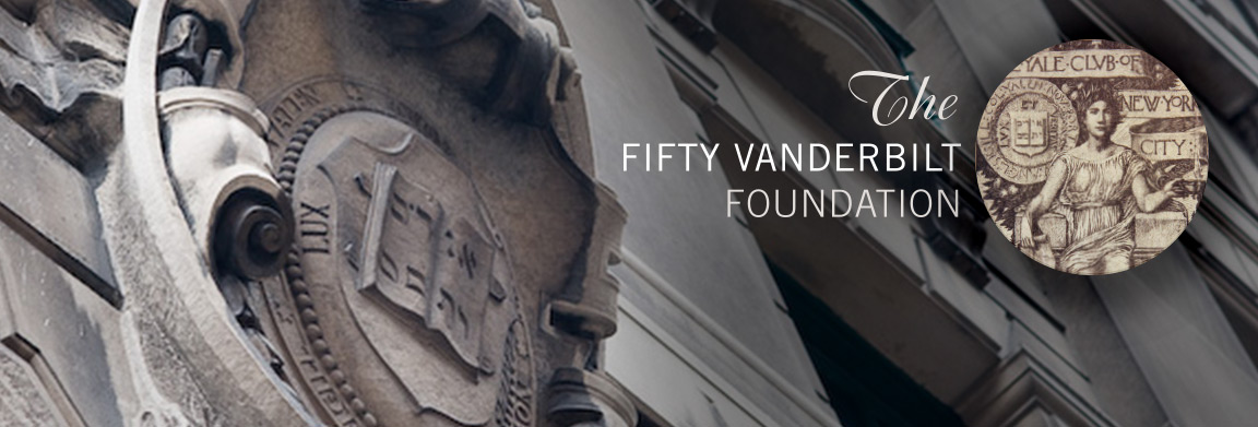 The Fifty Vanderbilt Foundation logo design