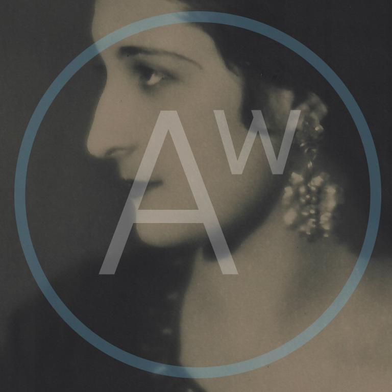 Anna Walinska branding created for website