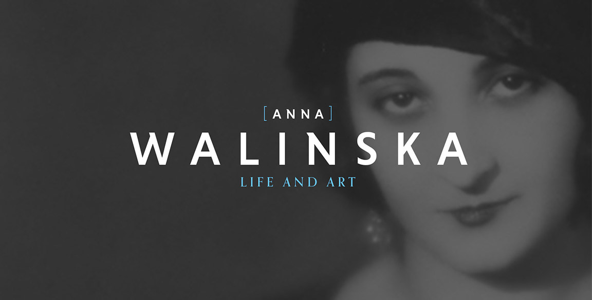 Website design and branding for Walinska.art