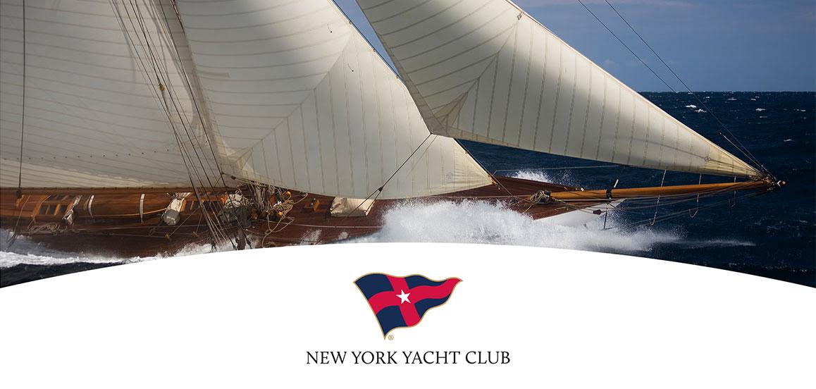 The New York Yacht Club branding system.
