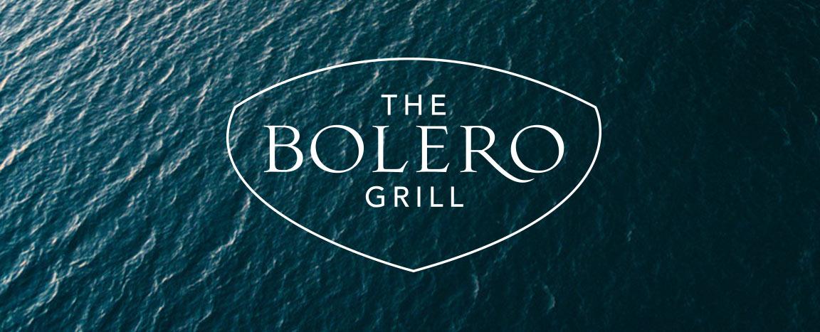 The Bolero Grill logo created by Bernhardt Fudyma Design Group NY